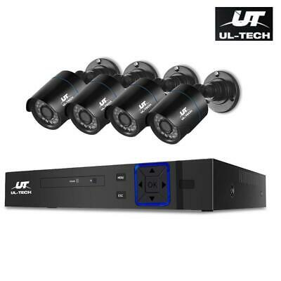 AU136 • Buy UL-tech CCTV Home Security System 8CH DVR 1080P Camera Outdoor Day Night IP Kit