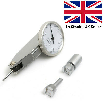 Imperial Dial Test Indicator, DTI, Inches With Two Dovetail Holders And Case  • 26.45£