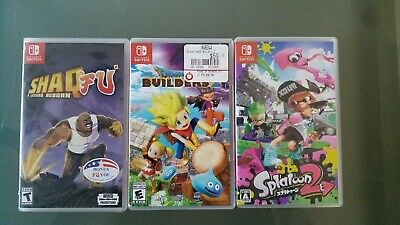 $90 • Buy Nintendo Switch Games Lot