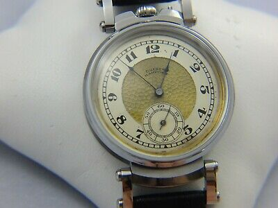 Dueber Hampden Mens Marriage Watch, 1920s,converted From Pocket Watch, Working • 5£