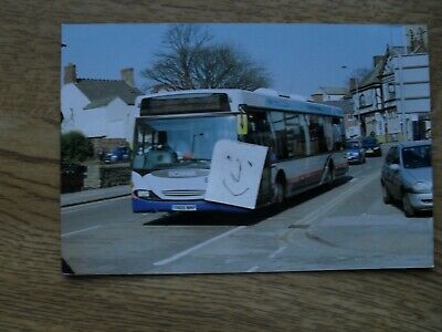 BUS PHOTO FIRST POTTERIES YNO6 WMP SNOW HILL STOKE On TRENT • 0.99£