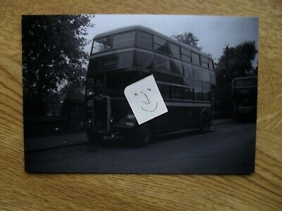 BUS PHOTO POTTERIES MOTOR TRACTION JEH 953  STOKE On TRENT • 0.99£
