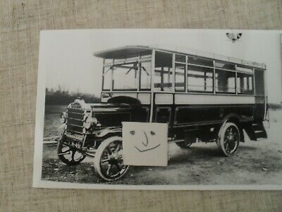 BUS PHOTO POTTERIES ELECTRIC TRACTION EH 491   STOKE On TRENT • 0.99£