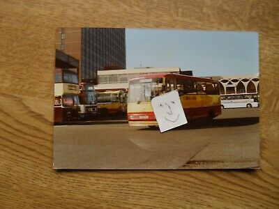 BUS PHOTO  POTTERIES MOTOR TRACTION F316 REH  STOKE On TRENT • 0.99£