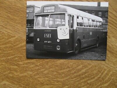 BUS PHOTO POTTERIES MOTOR TRACTION 699 AEH  STOKE On TRENT • 0.99£