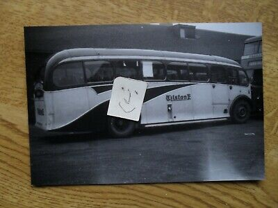 BUS PHOTO TILSTONE  BURSLEM To POTTERIES MOTOR TRACTION STOKE On TRENT • 0.99£