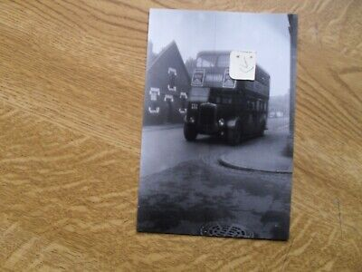 BUS PHOTO POTTERIES MOTOR TRACTION  FEH 805  STOKE On TRENT • 0.99£