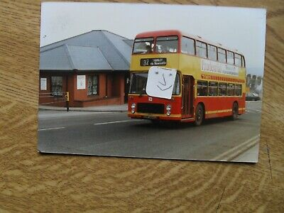 BUS PHOTO FIRST POTTERIES  URF 668S  HANLEY STOKE On TRENT • 0.99£