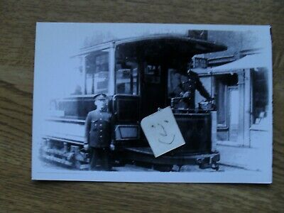 BUS TRAM PHOTO POTTERIES ELECTRIC TRACTION CAR 4 BURSLEM STOKE On TRENT • 0.99£