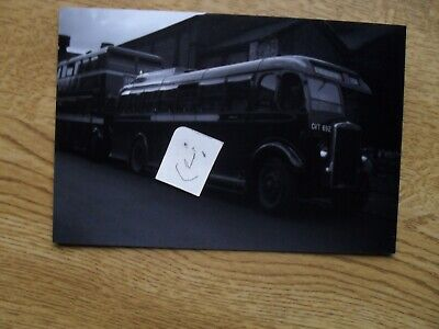 BUS PHOTO POTTERIES MOTOR TRACTION GVT 692 STOKE On TRENT • 0.99£