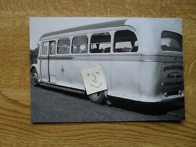 BUS PHOTO  STOKE MOTORS EEH 482  To POTTERIES MOTOR TRACTION • 0.99£