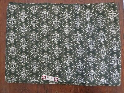 NOS Vintage Orig VIYELLA House Fabric W/Label Great Britain UK Apprx 12yd/1112cm • 73.14£