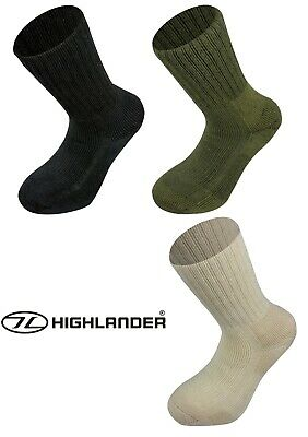 Highlander Norwegian Army Style Cold Weather Arctic Combat Boot Military Socks • 9.99£