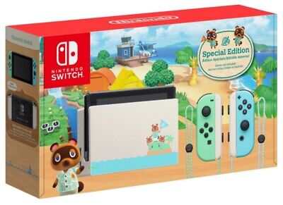 $ CDN2500 • Buy Animal Crossing Nintendo Switch Console Limited Edition