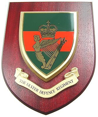 Udr Ulster Defence Regiment Classic Hand Made In The Uk Regiment Wall Plaque • 19.99£