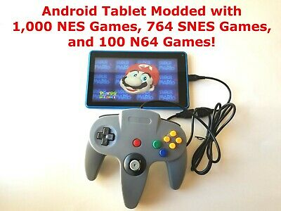 $ CDN139.61 • Buy SNES Classic Edition Mod 7  RCA Tablet Modded With 1864 NES SNES N64 Games!