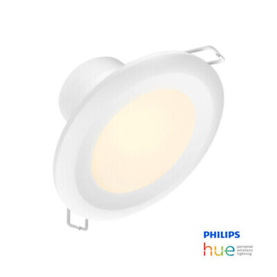 AU79 • Buy Philips Hue 90mm Cutout Garnea Downlight | White Ambiance | Zigbee & Blue Tooth