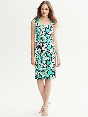 £77.58 • Buy NWT Banana Republic Milly Collection Eden Rock Printed Dress Size 16 #8f