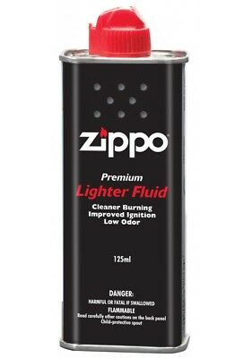 AU16.89 • Buy New Zippo Cigarette Genuine Lighter Premium FLUID Fuel Petrol Refill 125ml