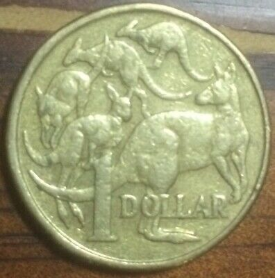 AU2.30 • Buy 2004 $1 One Dollar Mob Of Roos Coin LOW MINTAGE - Circulated