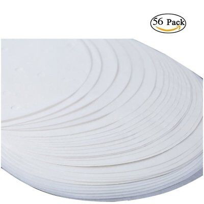 £3.99 • Buy 56 X Round Cake Tin Liners Mats Sheets Greaseproof Paper Circles Silicone