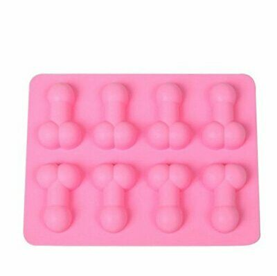 £3.30 • Buy Hen Party Willy Penis Dick Silicone Mould Chocolate Fondant Jelly Ice Cube Mold