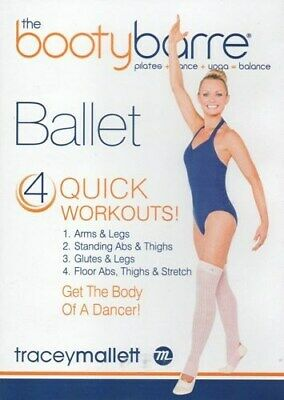 £13.92 • Buy Tracey Mallett The Booty Barre Ballet Dvd New Sealed Bootybarre Workout
