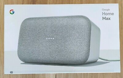AU240 • Buy Google Home MAX, Smart Speaker (Chalk) (New & Unopened)