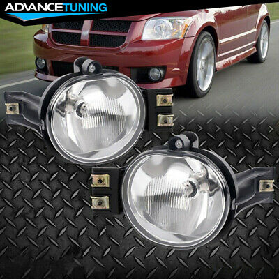 $25.99 • Buy Fits 02-08 Dodge Ram 1500 2500 3500 Durango Clear Lens Fog Lights W/ Bulbs Pair