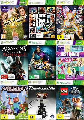 AU39.95 • Buy Xbox 360 Games - Choose Your Own Title *Free Next Day Post From Sydney*