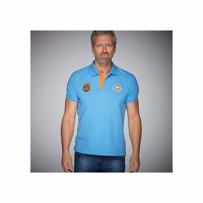 Grandprix Originals 69 Gulf Polo Shirt Cobalt • 53.99£