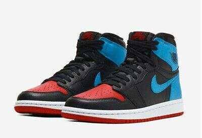 $190 • Buy AIR JORDAN RETRO 1 HIGH NC TO CHI CD0461-046 Size 10.5 WOMEN/ 9 MEN (IN HAND)