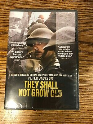 $9.99 • Buy They Shall Not Grow Old Dvd Peter Jackson Documentary Movie 2019 New Sealed Bbc