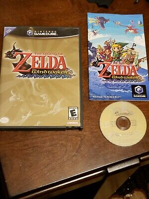 $39 • Buy The Legend Of Zelda Wind Waker Gamecube COMPLETE