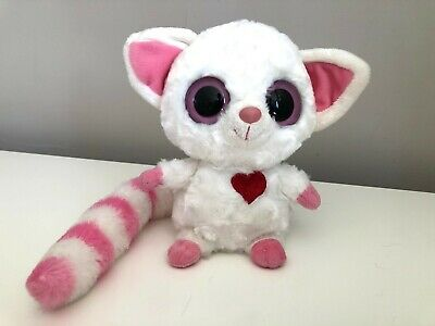 YooHoo & Friends 8  Pammee The Fennec Fox With Light & Sounds Love Heart - Rare • 7.99£