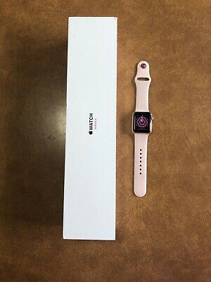 $ CDN155.13 • Buy Apple Watch Series 3 - Rose Gold With Pink Sand Sport Band (GPS + Cellular) -...