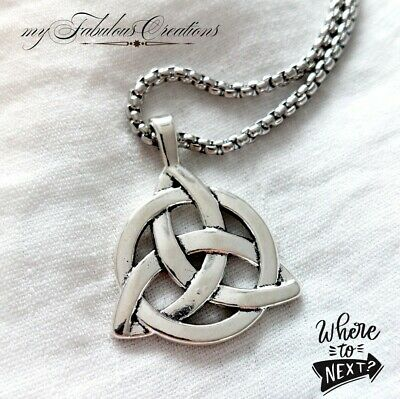 Men's Long Stainless Steel Box Link Chain Necklace Gift UK • 4.49£
