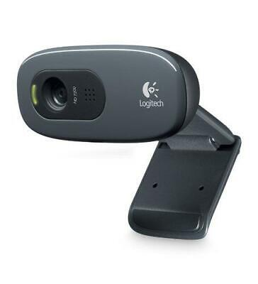 AU38.71 • Buy Logitech C270 720p 3MP Widescreen HD Webcam With Video Calling And Recording