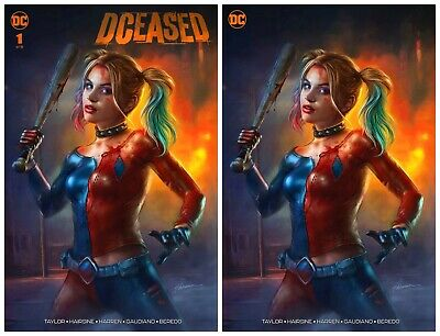 DCEASED #1  Shannon Maer Variant Set DC Comics 1st Print NM Limited To 1000 • 18.95£
