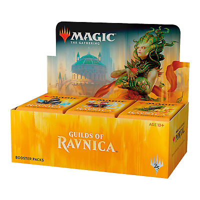 AU159.99 • Buy Guilds Of Ravnica *FREE POSTAGE* Magic The Gathering MTG Booster Box Sealed