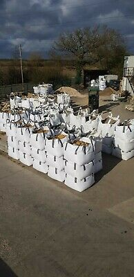 Yellow Building Sand Bulk Bag Quality Aggregates Wetherby • 42.60£