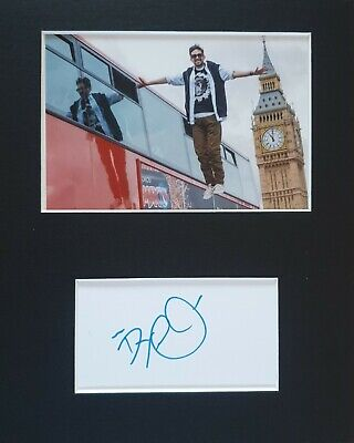 £19.99 • Buy Dynamo 'British Magician', Hand Signed Mounted Autograph.