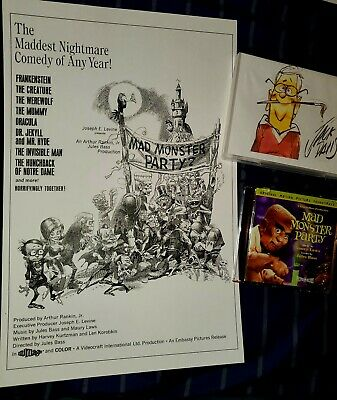 $39.99 • Buy NEW! Rankin/Bass' Mad Monster Party Jack Davis  Package!