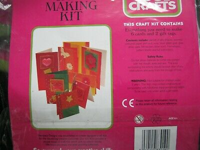 CARD MAKING KIT - Childrens Crafts • 10.50£