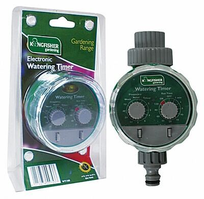 Kingfisher Automatic Electronic Water Garden Hose Watering Timer • 15.99£