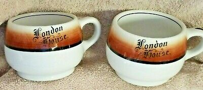 $17.50 • Buy 2  Chicago London House Coffee Mugs Cups By Mayer China EUC Vintage