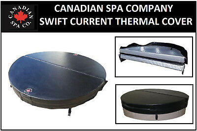 £294 • Buy Canadian Spa - Swift Current Hot Tub Hard Top Thermal Insulating Cover - Black
