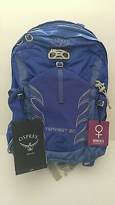 $99.98 • Buy Osprey Tempest 20 Women's Hiking Backpack Iris Blue 20L New In Package