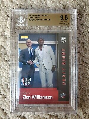 $79.89 • Buy ZION WILLIAMSON 2019 Panini Instant FIRST EVER PRINTED ROOKIE BGS 9.5 GEM MINT