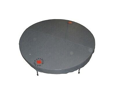 £399 • Buy Canadian Spa Round Deluxe 78 /198cm Diameter Hot Tub Cover - Grey